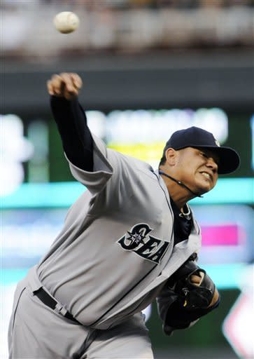King Felix goes distance again to beat Twins 1-0