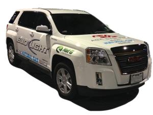 AGA Systems and Nat G CNG Solutions Introduce Bi-fuel Natural Gas System for GMC Terrain and Chevy Equinox