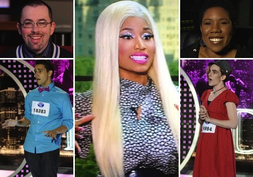 Idology: Report Card for Idol's Week 1 Singers! Plus: Nicki's Side-Eye, Keith's Best Body Part