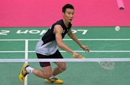 Malaysia's Lee Chong Wei plays against China's Chen Long in a men's semifinal singles badminton match at the London 2012 Olympic Games. Lee will get the chance to avenge his 2008 Olympic badminton final loss to Lin Dan after securing a gold medal showdown with the defending champion from China
