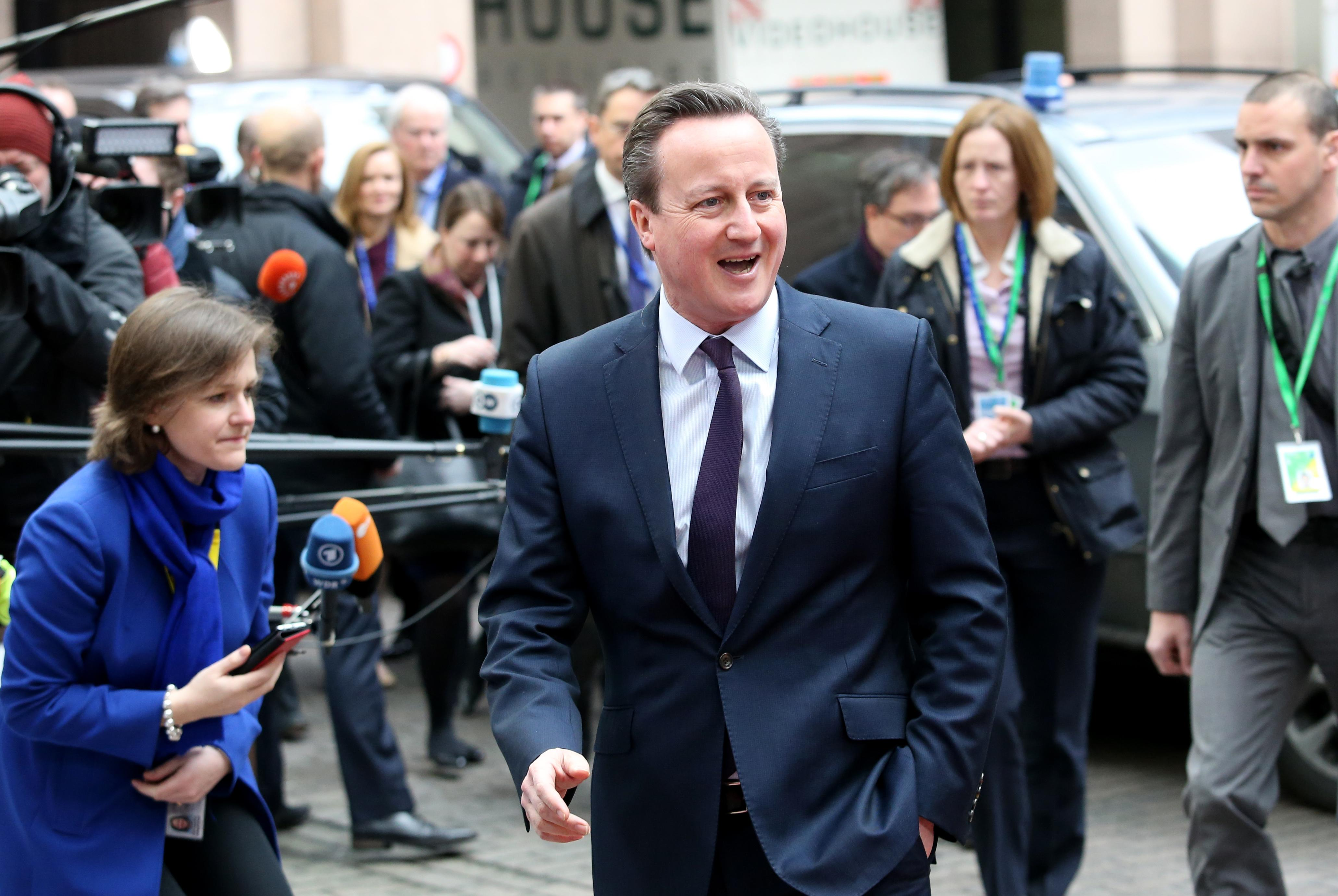 UK's Cameron: EU exit would lead to 'decade of uncertainty'