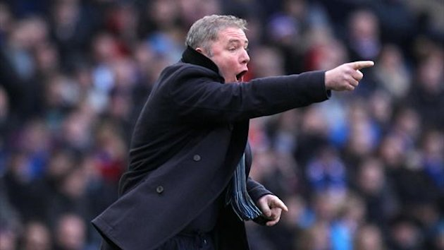 Ally McCoist was relieved with Rangers' late win at Queen's Park