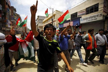 Nepal says will not let protests derail constitution