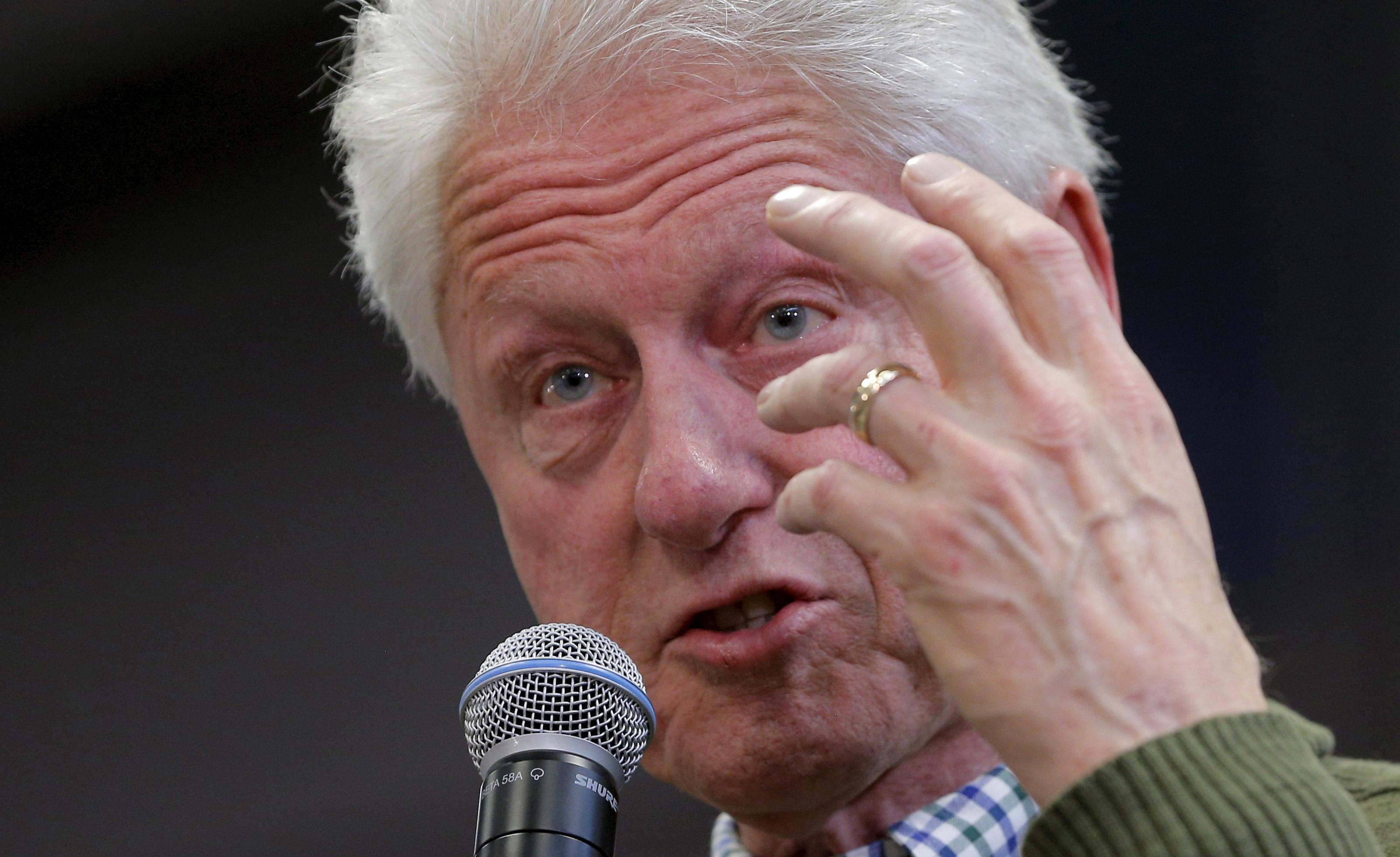 Bill Clinton pushes back against 'establishment' as a slur