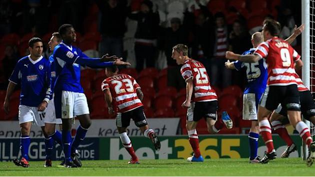 Doncaster knock-out Johnstone Paint holders Chesterfield