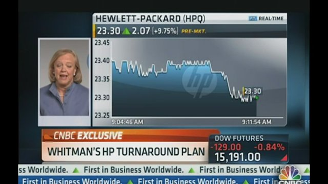 HP's Whitman: Revenue Growth Possible in 2014