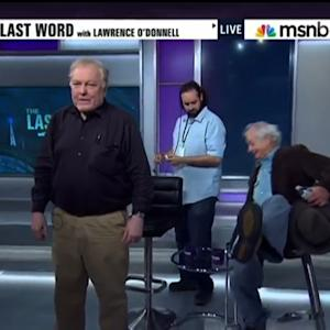 Bill Murray Crashes News Show, Falls Out of Chair