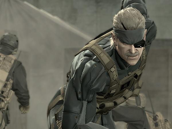 Longest Cutscene in a Video Game - 27 minutes, Metal Gear Solid 4