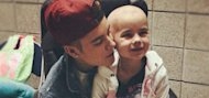Justin Bieber visits fan battling leukaemia