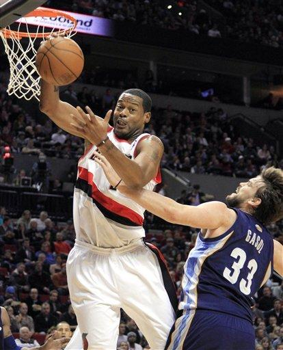 Aldridge, Camby lead Blazers past Grizzlies 97-84