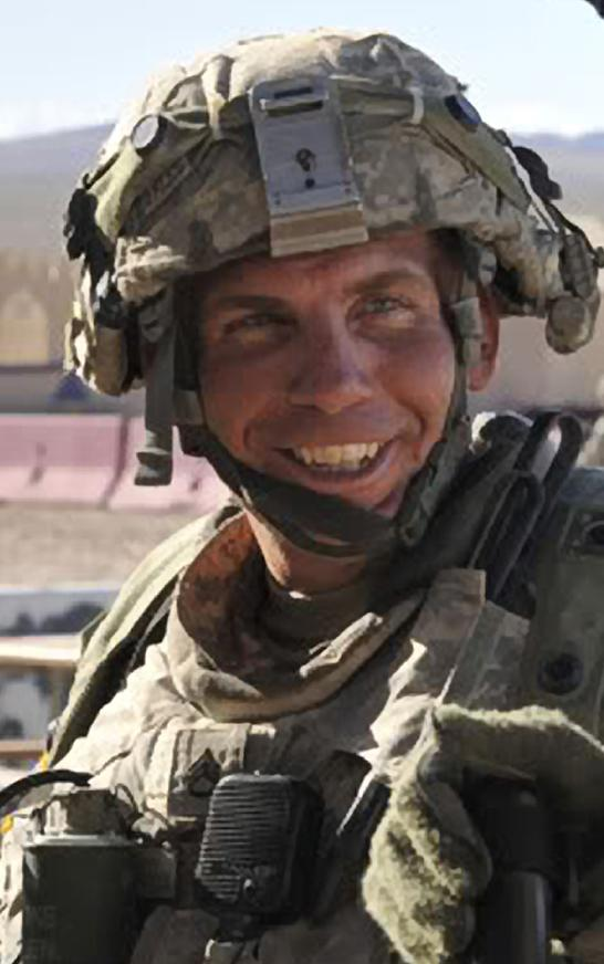 FILE - In this Aug. 23, 2011, file photo, Defense Video & Imagery Distribution System photo, Staff Sgt. Robert Bales, 1st platoon sergeant, Blackhorse Company, 2nd Battalion, 3rd Infantry Regiment, 3rd Stryker Brigade Combat Team, 2nd Infantry Division participates in an exercise at the National Training Center at Fort Irwin, Calif.  The U.S. Army says Bales, the soldier accused of killing 16 Afghan villagers during nighttime raids last year, will be arraigned Thursday, Jan. 17, 2013.  Staff Sgt. Robert Bales could face the death penalty if convicted in the March 11 massacre. He faces premeditated murder and other charges in the attack on two villages in southern Afghanistan.(AP Photo/DVIDS, Spc. Ryan Hallock, File)