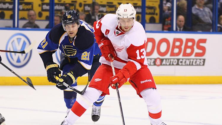 Detroit Red Wings v St. Louis Blues