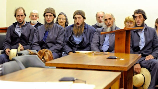 Seven Amish Men Charged with Hate Crimes for Beard Cutting (ABC News)