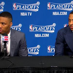 Lillard on winning Game 4 and staving off elimination