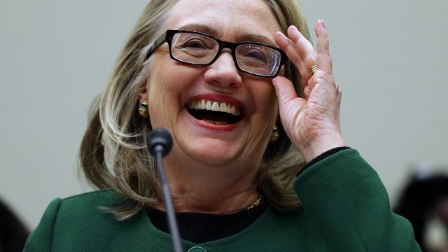 Clinton's Glasses a Concussion Result