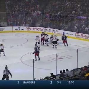 Tuukka Rask Save on James Wisniewski (02:14/3rd)