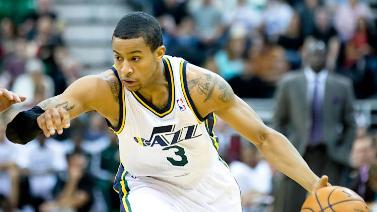 NBA: Preseason-Golden State Warriors at Utah Jazz