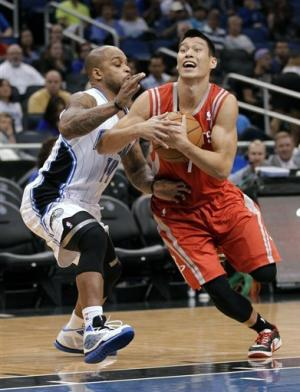 Lin, Rockets beat Magic to finish 5-2 in preseason