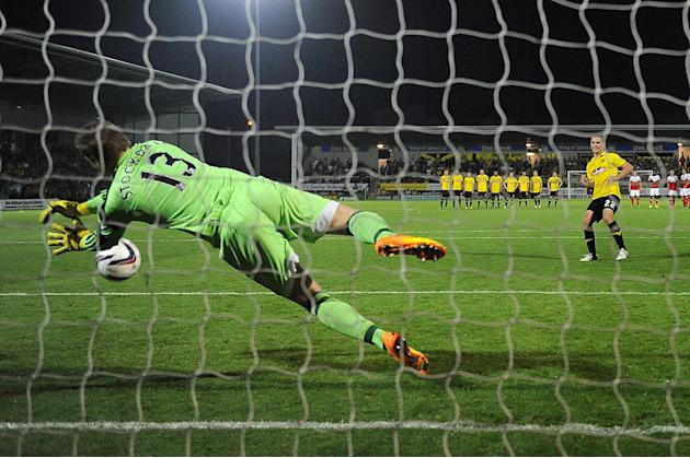 Soccer - Capital One Cup - Second Round - Burton Albion v Fulham - Pirelli Stadium
