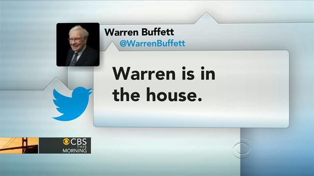 Headlines at 8:30: Warren Buffett tweets