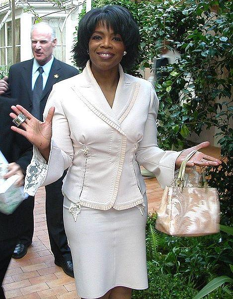 Oprah is a peace keeper.