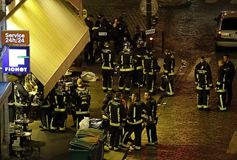 Apocalyptic scenes as Paris hit by multiple attacks