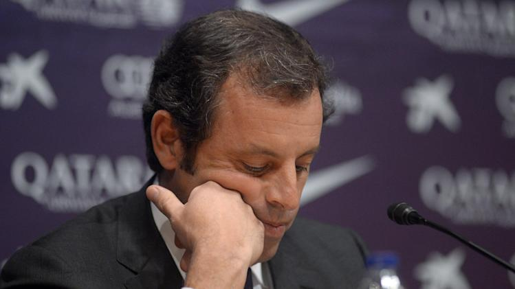 Barca president resigns amid Neymar lawsuit
