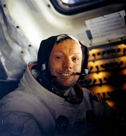 Neil Armstrong (AP Photo/NASA)