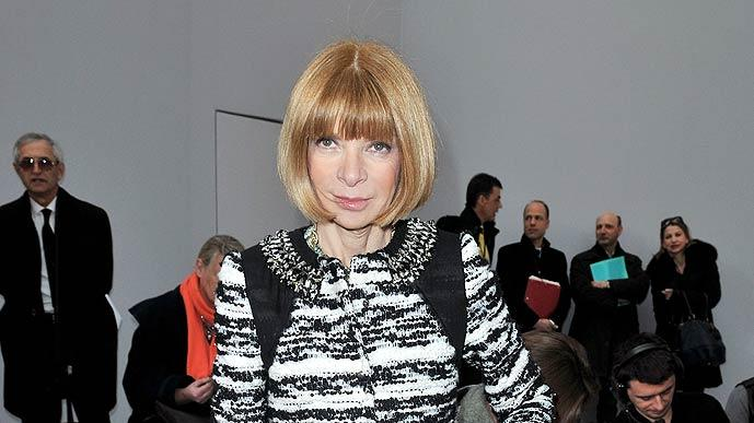 Wintour Anna Paris Fashion Week