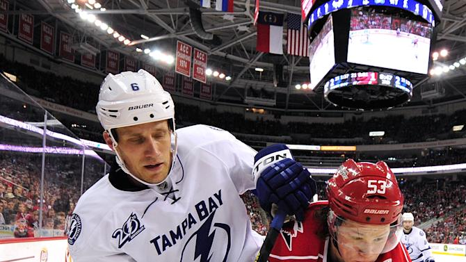 Tampa Bay Lightning v Carolina Hurricanes