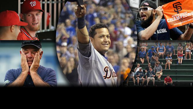 2012 Year in Review - MLB: The year's top stories featured Stephen Strasburg, The Miami Marlins, The San Francisco Giants, the Boston Red Sox, the Los Angeles Dodgers and the AL MVP race.