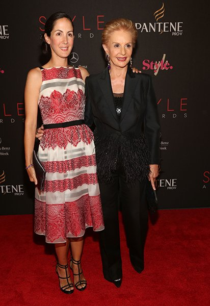 Patricia Cristina Herrera and Carolina Herrera