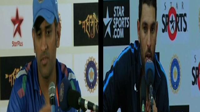 Dhoni on Yuvraj dropping crucial catch vs WI