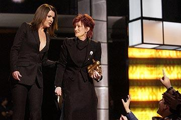 Lauren Graham and Sharon Osbourne VH-1 Big in 2002 Awards - 12/4/2002