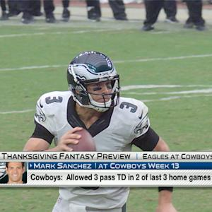 'NFL Fantasy Live': Dallas Cowboys vs. Philadelphia Eagles Thanksgiving preview