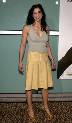 Premiere: Sarah Silverman at the LA premiere of Paramount's The School of Rock - 9/24/2003