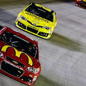 Kenseth, McMurray left searching for victory