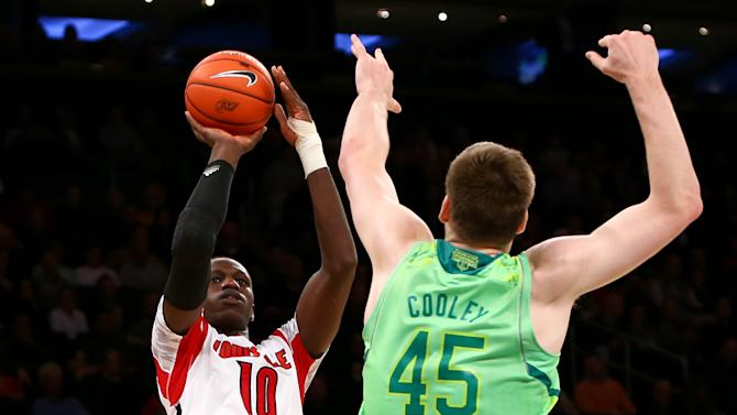 NCAA Basketball: Big East Tournament-Louisville vs Notre Dame