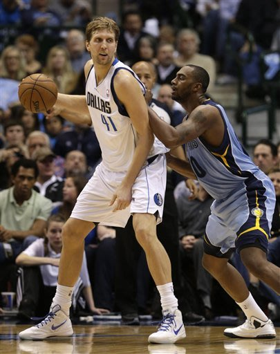 Marion leads Mavs in 104-83 win over Grizzlies