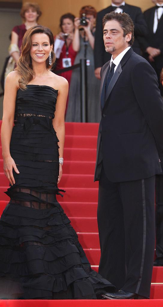 63rd Annual Cannes Film Festival 2010 Closing Ceremony Kate Beckinsale Benicio Del Toro