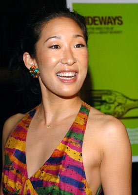 Sandra Oh at the Beverly Hills premiere of Fox Searchlight's Sideways