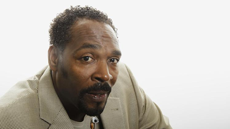 FILE - In this April 13, 2012 file photo, Rodney King poses for a portrait in Los Angeles. Police said Thursday, Aug. 23, 2012, that King's death in June was ruled an accidental drowning and there were multiple illegal drugs in his system. King was the black motorist severely beaten by Los Angeles police officers in 1991. The officers' acquittal triggered the devastating 1992 Los Angeles riot. (AP Photo/Matt Sayles, File)