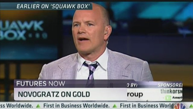 Futures Now: Has Gold Bubble Burst?