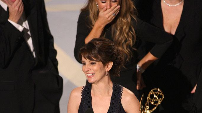 Tina Fey during 59th Annual Primetime Emmy Awards at the Shrine Auditorium on September 16, 2007 in Los Angeles, California.