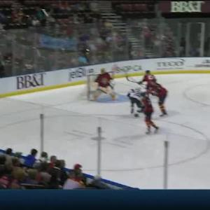 Roberto Luongo Save on Zach Parise (05:09/2nd)
