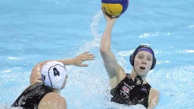 Team GB's women's water polo players
