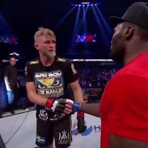 Fight Night Stockholm: Main Event Octagon Interviews
