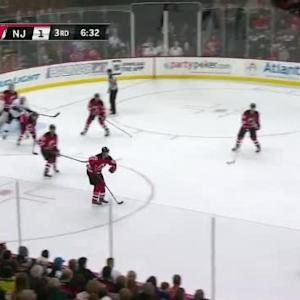 Cory Schneider Save on Simon Despres (13:32/3rd)