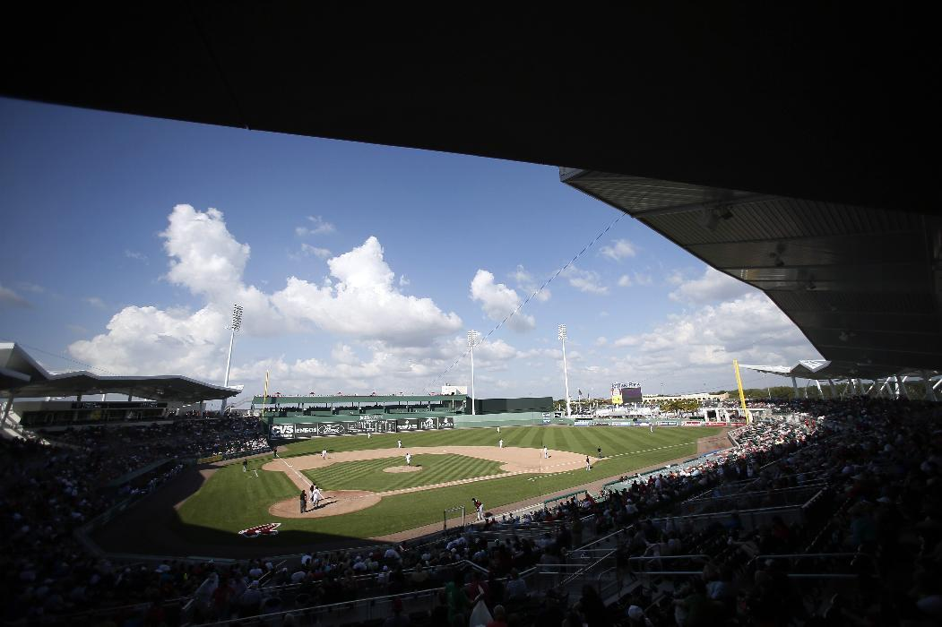 Ramirez hits loud double as Red Sox lose to Marlins 5-3