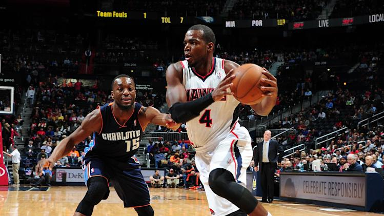 Millsap, Williams help Hawks rally past Bobcats